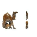Wooden Camel Statues