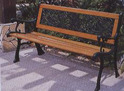 Classical English Park Bench
