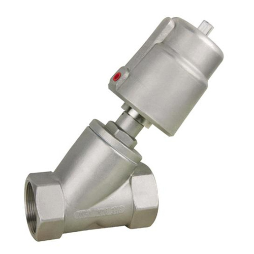 Stainless Steel Pneumatic Angle Seat Valve