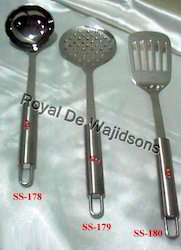 frying spoon stainless steel