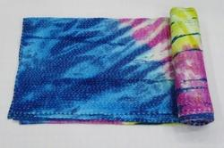 Tie Dye Kantha Bed Cover