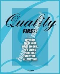 Posters On Quality Basics