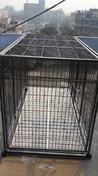 dog steel cage
