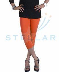 cotton spandex capri leggings