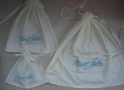 Logo Printed Cotton Drawstring Bags for Promotions