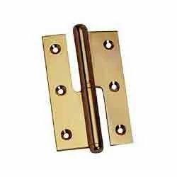 Reflex Brass Hinge - Button Top