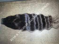 Unprocessed Natural Virgin Human Hair Weft