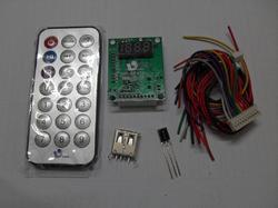 MP3 USB FM Circuit with Remote