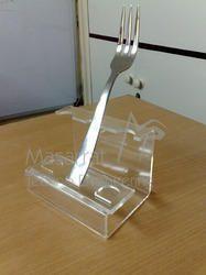 Acrylic - Fork & Spoon Holder