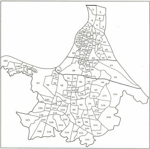 Ward Map Groundpenetrating Radar GPR Survey Service Provider - Beawar map