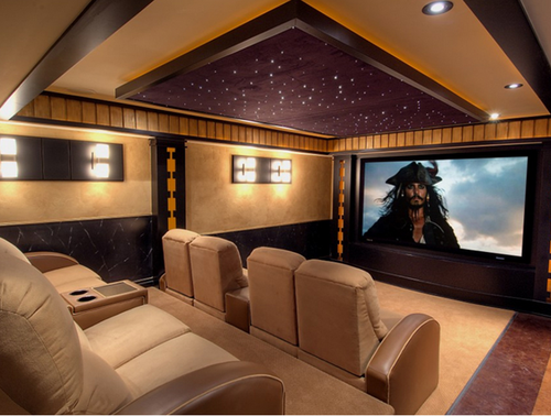 Merveilleux Home Theatre Interior Design