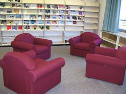Comfortable Library Chairs