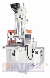 Vertical Injection Molding Machine with Sliding Table