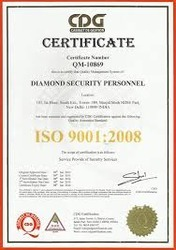 Certificate In Industrial Security Management Service In