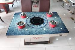 in built buffet induction warmer stove cooker