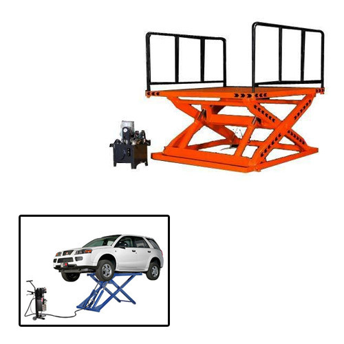 Scissor Lift for Automobile Industry