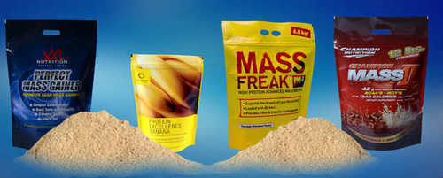 Protein Pouches/ Supplement Packaging