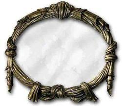 Brass Mirror