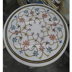 Marble Table Tops with Inlay