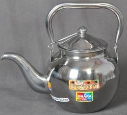 Stainless Steel Tea Coffee Kettle ( Seamless) Round