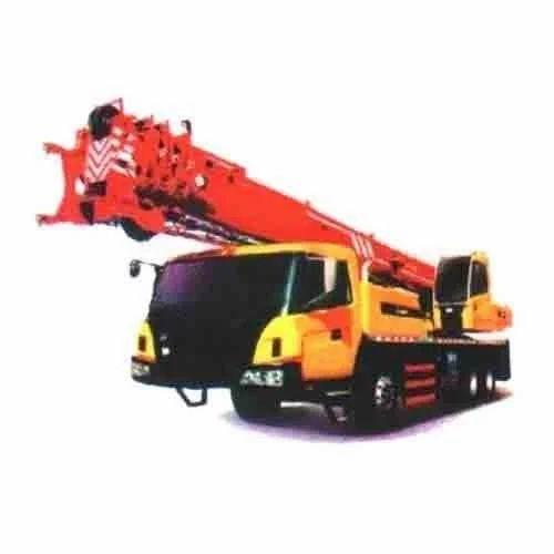 Telescopic Crane Hire : I s earth movers pvt ltd kolkata service provider of