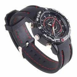 HD Camera Wrist Strap Watch 4 GB Memory Audio / Video DVR In