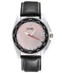 VESPL Classic Silver Dial Analog Men's Watch-VS153