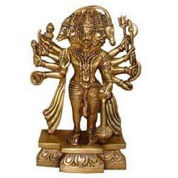 Hanuman Sitting w/ 5 Face