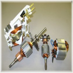 electrical motor components