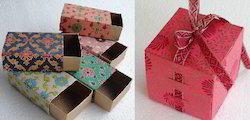 Custom Printed Folding Paper Favor Boxes