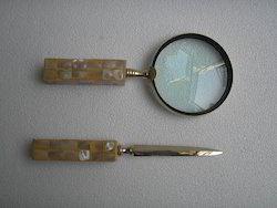 Letter Opener Magnifying Glass Set