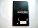 Counter Notebook 2 Quire