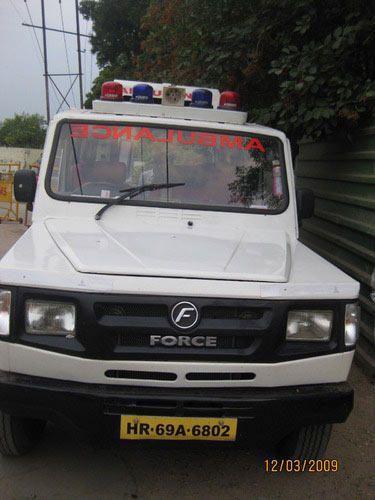 Ambulance AC Force Cruiser