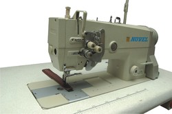 Heavy Duty Double Needle Lock Stitch Machine