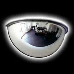 Half-Dome Convex Mirror