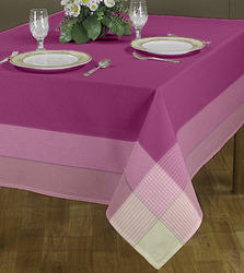 Attractive Line Printed Table Cloths