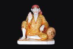 Marble Sai Baba Statue Dwarkamai