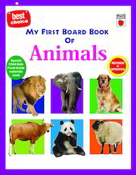 My First Board Book Of Animals
