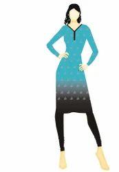 Handloom Block Print Dress Material