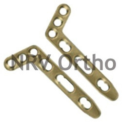Dorsal L Distal Radius Plate 2.4mm Oblique Angled (L/R)