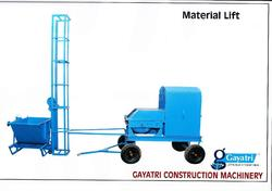material lift and spare parts