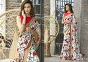 Saptrangi Organic Linen Exclusive Designer Saree