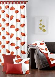 Alluring Flower Designs Curtain