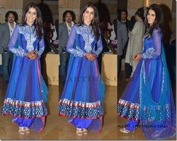Beautiful Bollywood Blue Suit