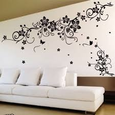 Wall Painting on unique house interiors
