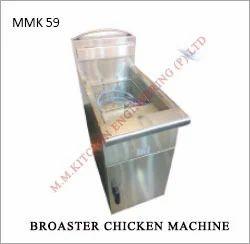 broaster chicken machine