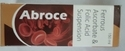 Abroce Product