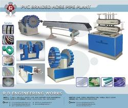 PVC Breaded Hose Machine