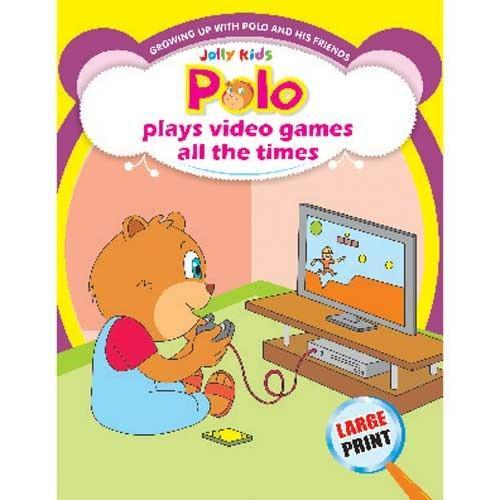 Polo Plays Video Games