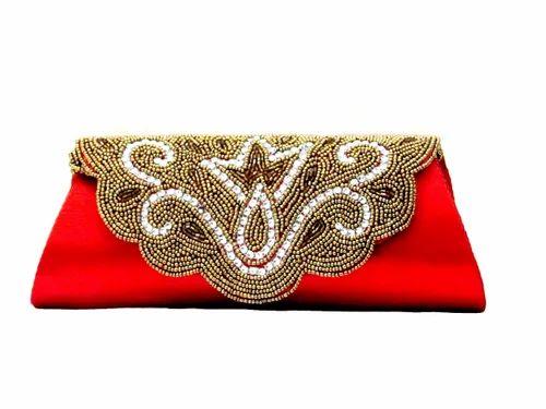Crystal Beaded Evening Handbag